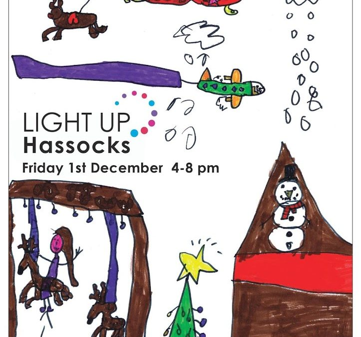 Light Up Hassocks – Late night shopping